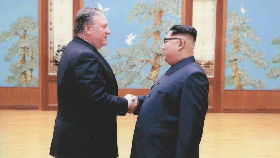 Biały Dom publikuje zdjęcia z tajnej wizyty Pompeo w Korei Północnej