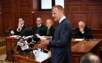 Tusk: nie mam w świadomości, żeby pojawił się sygnał ze strony prezydenta lub jego ludzi, że są niezadowoleni z projektu mojej wizyty, a 10 kwietnia wizyty prezydenta