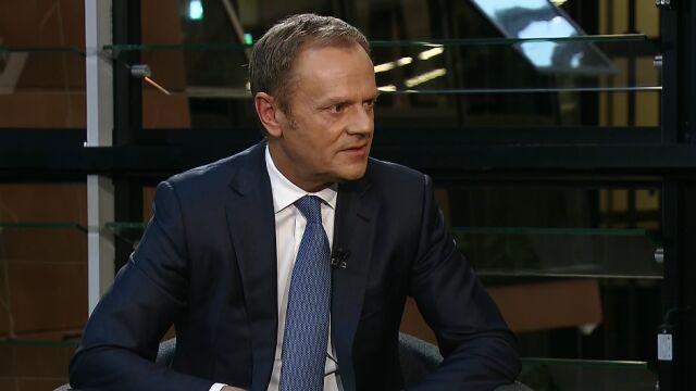 Donald Tusk: syn był przedmiotem nagonki Amber Gold
