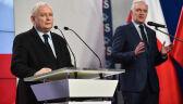 """""""Jesteśmy pełni optymizmu"""". Kaczyński komentuje sondażowy spadek PiS-u"""