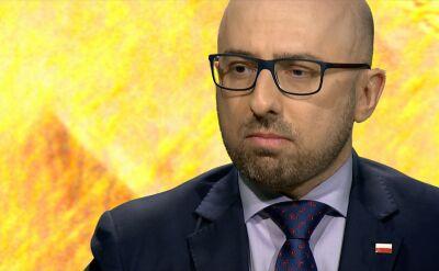 """Krzysztof Łapiński w """"Piaskiem po oczach"""""""