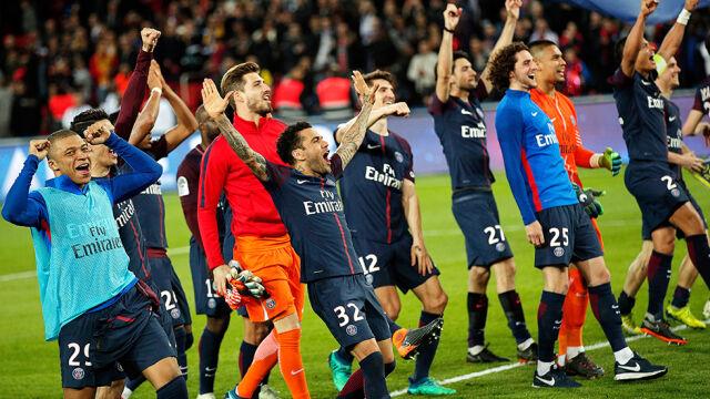 Glik kontuzjowany, Monaco trafione siedem razy. PSG odzyskało koronę