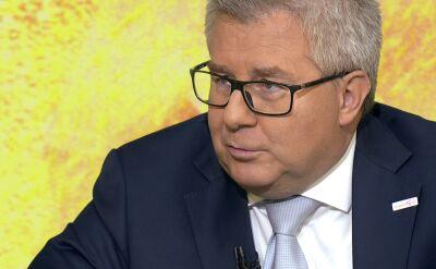 """Ryszard Czarnecki w """"Piaskiem po oczach"""""""