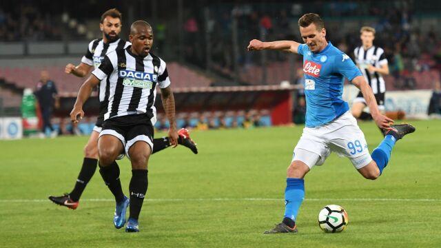 Owacja na stojąco dla Milika. Jego gol dał wygraną Napoli