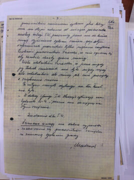 """Dokumenty z teczki pracy tajnego współpracownika TW """"Bolek"""""""