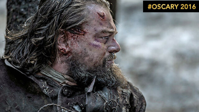 Leo doczołga się po Oscara? Krew,  pot i łzy - to działa na Akademię