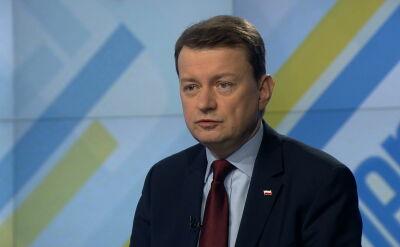 Błaszczak o aktach Kiszczaka: powinny trafić do internetu