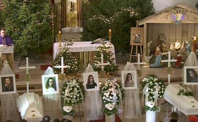 Emocjonalna homilia w trakcie mszy pogrzebowej w Koszalinie
