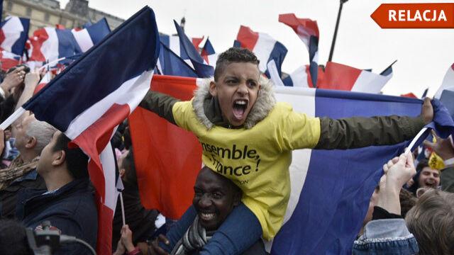 Emmanuel Macron wygrałwybory prezydenckie
