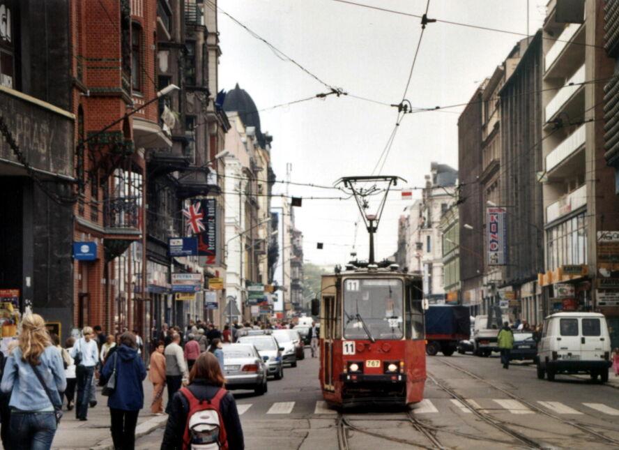 Ulica 3 Maja w Katowicach, 2005 rok