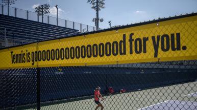 Wyjątkowa pomoc dla tenisistów.