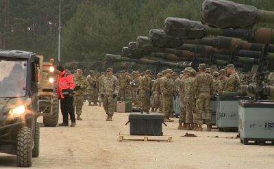 Przerzut żołnierzy USA na poligon w Drawsku Pomorskim