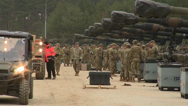 Żołnierze USA w Polsce