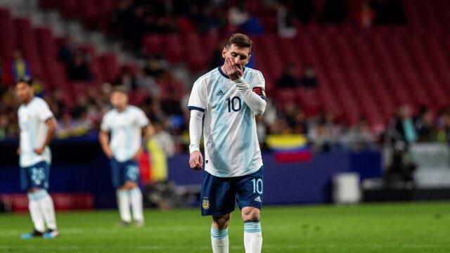 Przykry powrót Messiego do kadry. Porażka i kontuzja kapitana Argentyny
