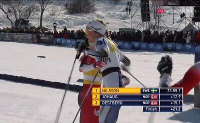 Nilsson wygrała ostatni bieg w sezonie, Oestberg z Kryształową Kulą