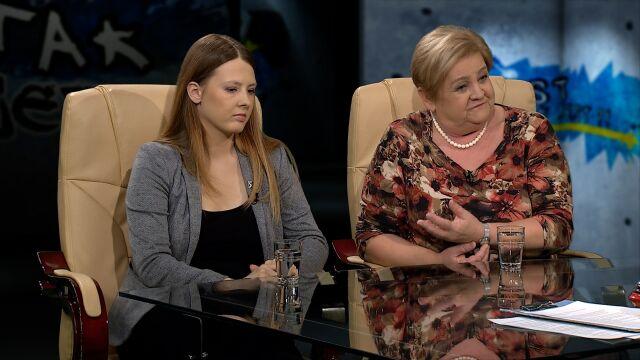 Elżbieta Zielińska i Aleksandra Piotrowska w Tak Jest