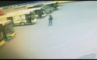 Pijany ukradł autobus z zajezdni. Przejechał nim trzy kilometry