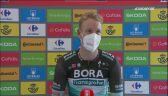 Pascal Ackermann po zwycięstwie na 18. etapie Vuelta a Espana