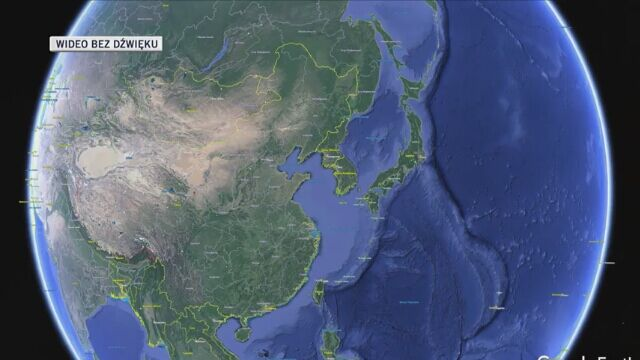 Bieg odbywał się w pobliżu miasta Baiyin w chińskiej prowincji Gansu