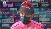 Egan Bernal po obronie zwycięstwa w Giro d'Italia w etapie jazdy na czas