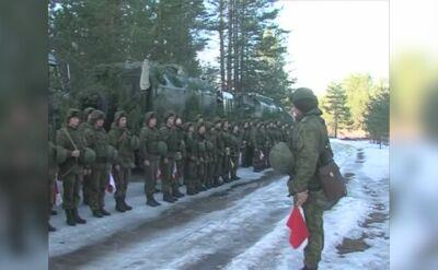 Ćwiczenia rosyjskiego dywizjonu Iskanderów