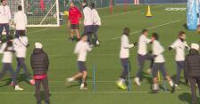 Trening PSG przed meczem z Galatasarayem