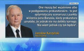 Kaczyński dla PAP: ciągle liczymy, że zdrowy rozsądek prezesa NIK zwycięży