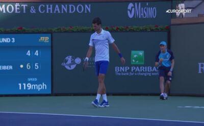 Djokovic odpadł w trzeciej rundzie turnieju Indian Wells