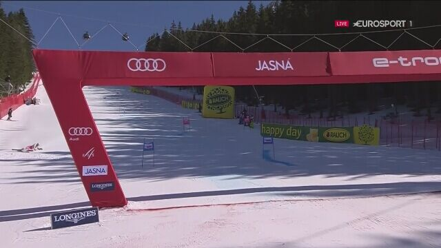 Maryna Gąsienica-Daniel nie ukończyła 2. przejazdu giganta w Jasnej