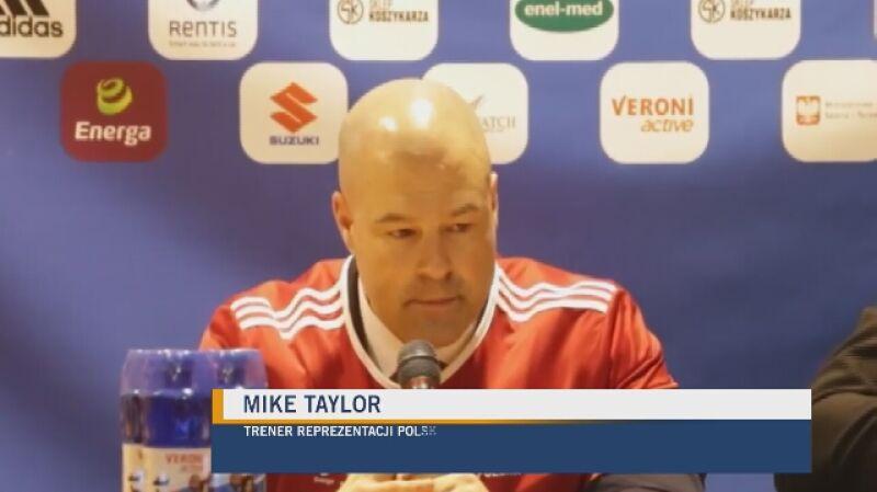 Mike Taylor: jestem dumny z tej drużyny