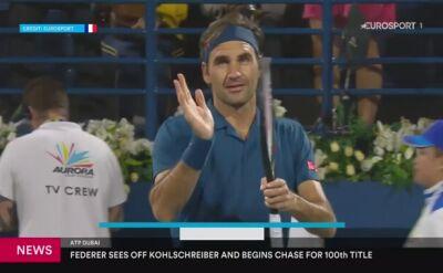 Federer stracił seta z Kohlschreiberem