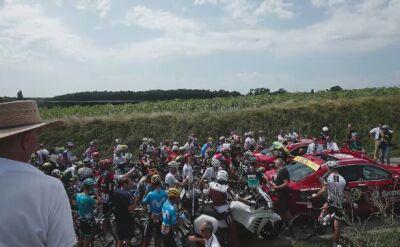 16. etap Tour de France został wstrzymany