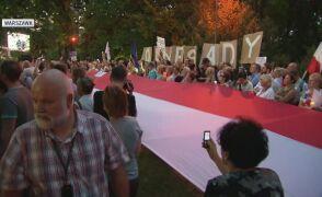 W 2018 roku protesty w obronie sądów przeszły ulicami wielu miastach Polski