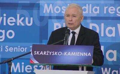 Jarosław Kaczyński o kampanii podczas świąt