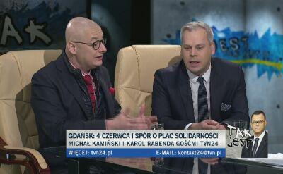 Michał Kamiński i Karol Rabenda w Tak Jest