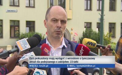 Prokuratura o podejrzanym w sprawie zabójstwa Kristiny z Mrowin