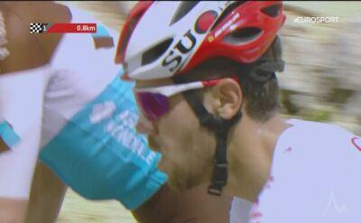 Herrada pokonał Bardeta na ostatnich metrach na Mont Ventoux