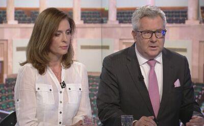 Czarnecki: solidarność z ofiarami, z rodzinami ofiar, a nie solidarność z bandytami