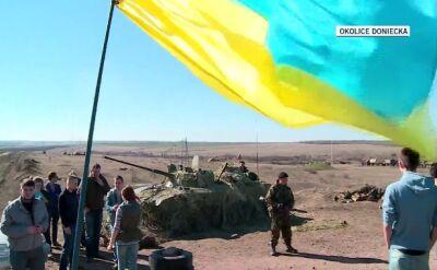Jednostka wojskowa w obwodzie donieckim