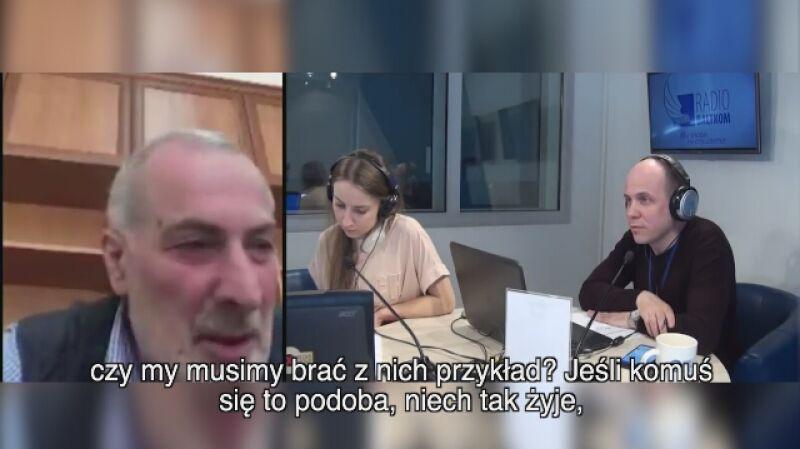 Fragment wywiadu z Witalijem Kałojewem o katastrofie  nad Jeziorem Bodeńskim