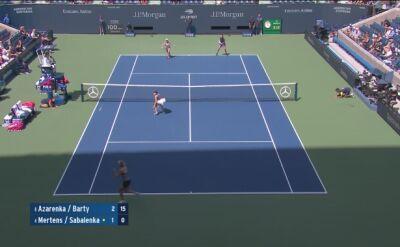 Skrót finału damskiego debla US Open 2019