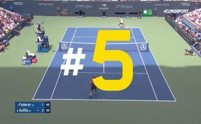 Najlepsze zagrania 7. dnia US Open