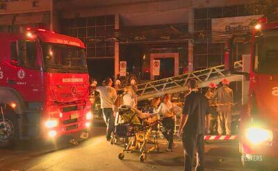 Po pożarze szpitala w Rio de Janeiro nie żyje co najmniej jedna osoba