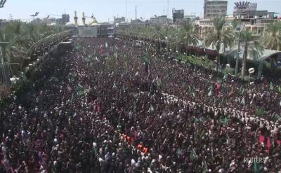 Podczas obchodów Aszury w irackiej Karbali doszło do tragedii