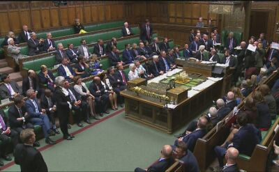 Prace brytyjskiego parlamentu zawieszone na pięć tygodni