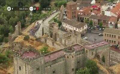 Kraksa na 19. etapie Vuelta a Espana. Leżał lider