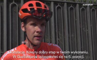 Jonas Koch: Chcę znaleźć się na etapowym podium Vuelty