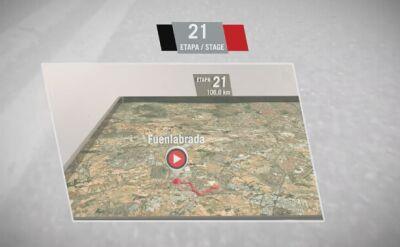 To ostatnia niedziela, czyli profil ostatniego etapu Vuelta a Espana