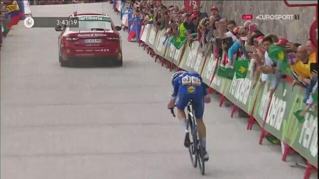Remi Cavagna wygrał 19. etap Vuelta a Espana