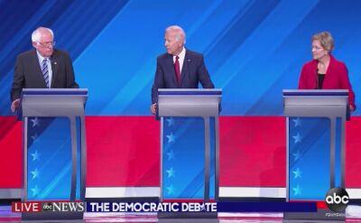 Demokraci zabiegający o prezydencką nominację partii starli się w debacie
